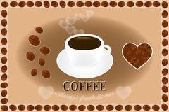 Affiche de café Photos libres de droits