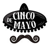Affiche de Cinco de Mayo illustration stock