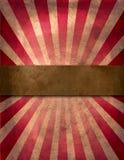Affiche de cirque Photo stock