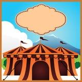 Affiche de cirque Image stock