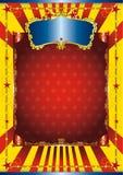 Affiche de cirque d'amusement Image libre de droits
