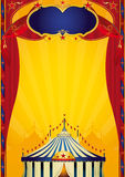 Affiche de cirque de Beautifull illustration de vecteur