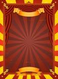Affiche de cirque de cru Image stock