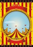 Affiche de cirque de divertissement Images libres de droits