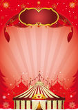 Affiche de cirque de Noël illustration stock