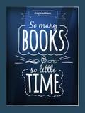 Affiche de citation illustration stock