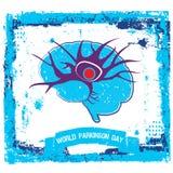 Affiche de conscience de la maladie du ` s de Parkinson illustration stock
