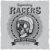 Affiche de coureurs de Lagendary Photos libres de droits
