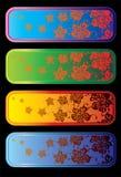 affiche de flowerses Illustration Stock