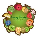 Affiche de fruit de Image libre de droits