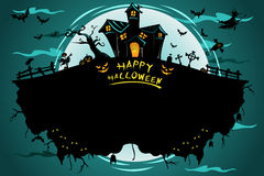 Affiche de Halloween Image libre de droits