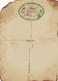 Affiche de jour du ` s de St Patrick Image stock