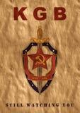 Affiche de l'URSS Photos stock
