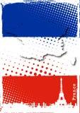 Affiche de la France Photo libre de droits
