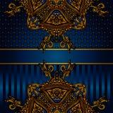 Affiche de luxe de vecteur Image libre de droits