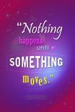 Affiche de motivation Image stock