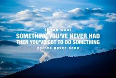 Affiche de motivation de citation Image libre de droits