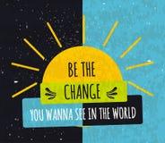 Affiche de motivation typographique colorée pour soulever la foi dans vous-même et votre force La série de concepts d'affaires su Photographie stock libre de droits