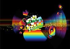 Affiche de musique Photos libres de droits