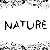Affiche de nature Photo stock
