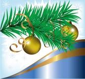 AFFICHE de Noël Photo libre de droits