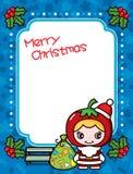 Affiche de Noël Images libres de droits