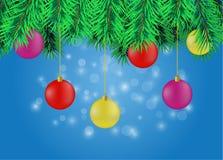 Affiche de Noël Photographie stock libre de droits