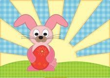 Affiche de Pâques image stock