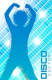 Affiche de partie de disco Images libres de droits