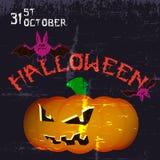 Affiche de partie de Halloween Photographie stock
