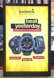 Affiche de promotion de Garmin Watch Image stock