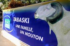 Affiche de Tabaski à Dakar Image libre de droits