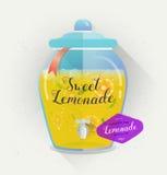Affiche de typographie de vecteur Design de carte créatif de citation Copie de limonade pour le menu, la carte et le livre, ensei Image stock
