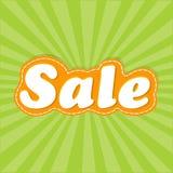 Affiche de vente Images stock