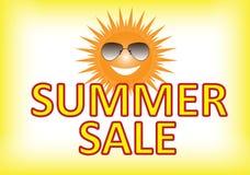 Affiche de vente d'été Image libre de droits