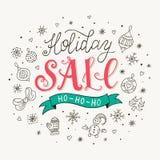 Affiche de vente de vacances Photographie stock libre de droits