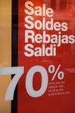 Affiche de ventes Image libre de droits