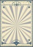 Affiche de vintage de cirque de cirque illustration de vecteur