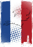 Affiche des Hollandes Photos libres de droits