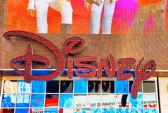 Affiche Disney op Tijden vierkant-Centraal en hoofdvierkant van Nieuwe Yor Royalty-vrije Stock Afbeeldingen