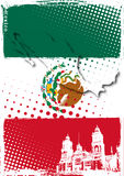Affiche du Mexique Images stock