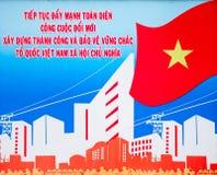Affiche du Vietnam images libres de droits