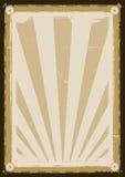 Affiche fraîche de fond de cru illustration de vecteur