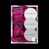 Affiche/insecte finaux d'achats de mode Image libre de droits
