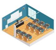 Affiche intérieure de salle de classe moderne Photo libre de droits