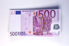 affiche l'euro Photographie stock libre de droits