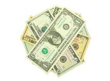 affiche le dollar Images stock