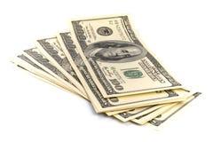 affiche le dollar Image libre de droits