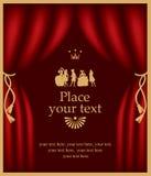 Affiche met actoren Royalty-vrije Stock Foto's