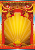 Affiche multicolore de cirque illustration stock